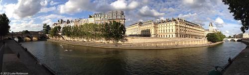 Ile de la Cité Panorama