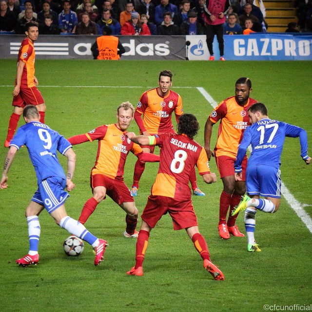 Chelsea 2 Galatasaray 0 (3-1 agg)