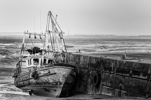 Fishing Boat at rest, Old Leigh