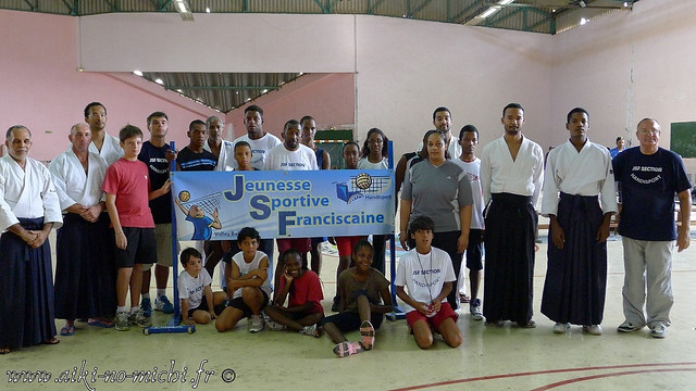 Rencontre Aikido et club Handisport du François