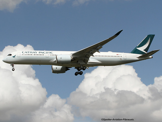 Cathay Pacific. Airbus A350-941. Second Test Flight.