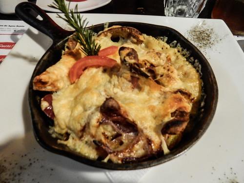 Baños: un autre rösti suisse avec des champignons