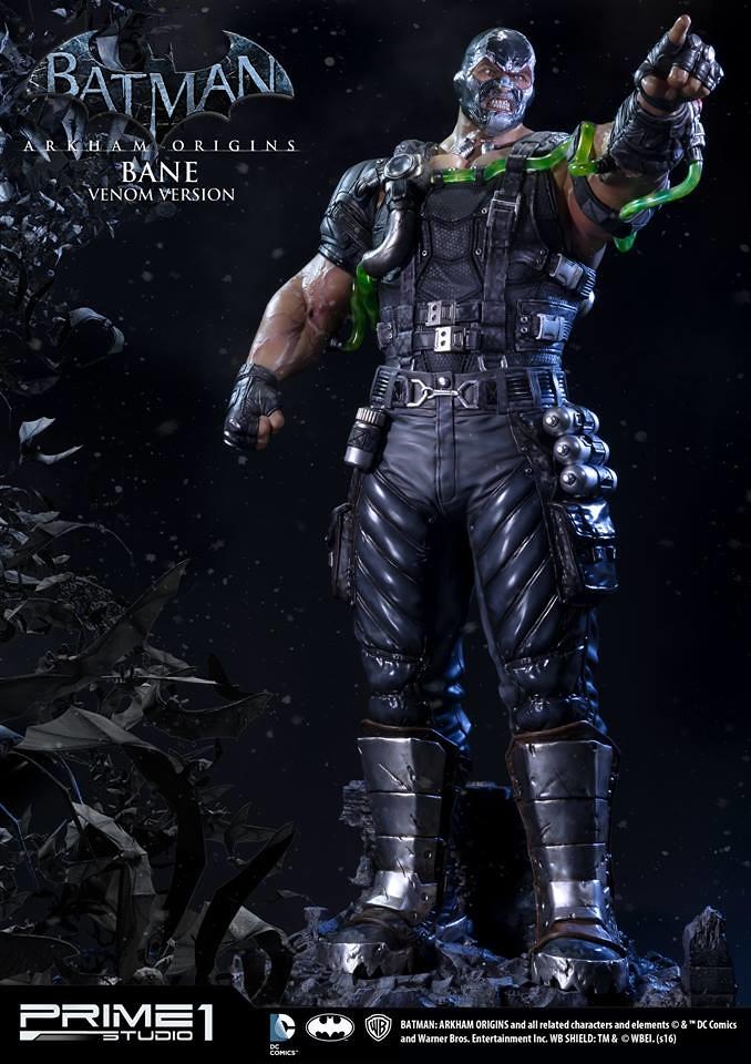 【完整官圖、販售資訊更新】Prime 1 Studio 蝙蝠俠:阿卡漢起源【毒液班恩】Venom Bane 1/3 比例超巨大全身雕像