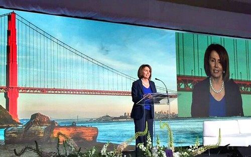 Congresswoman Pelosi addresses Inaugural Mission Innovation Ministerial