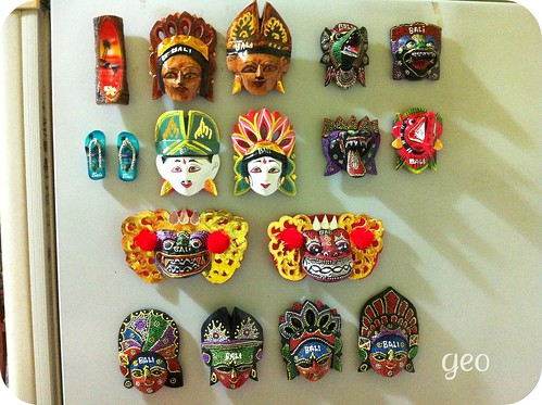magnets from Bali