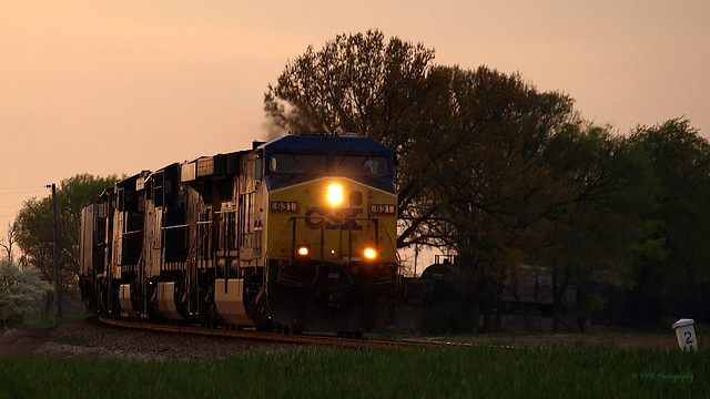 CSX approaching Bagby Road