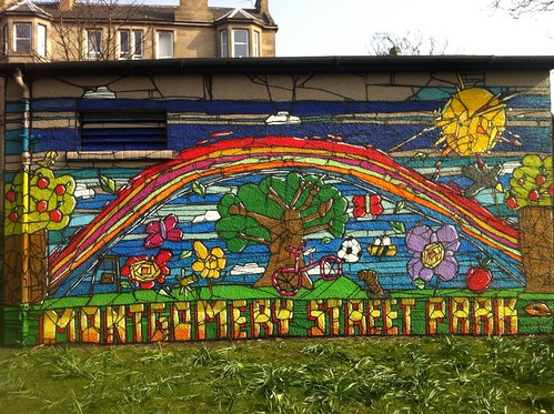 Montgomery Street Park Mural