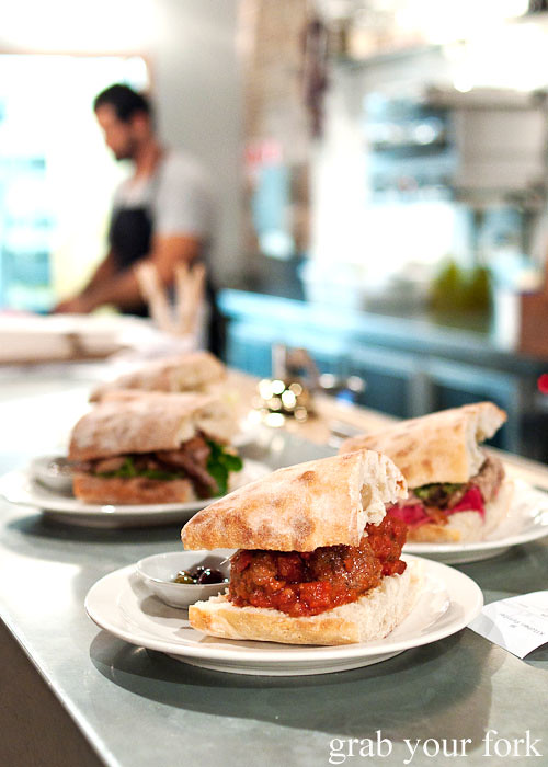 lunchtime sandwiches at freda's chippendale