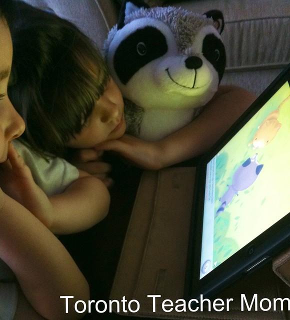 Watson Storybook iPad App