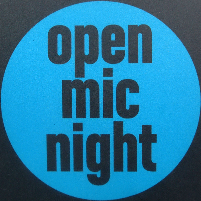 how to participate in open mic