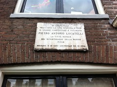Photo of Pietro Locatelli white plaque