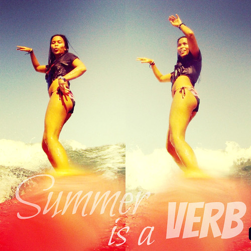 Summer is a VERB Surfing