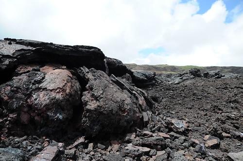 そして、噴火跡へ