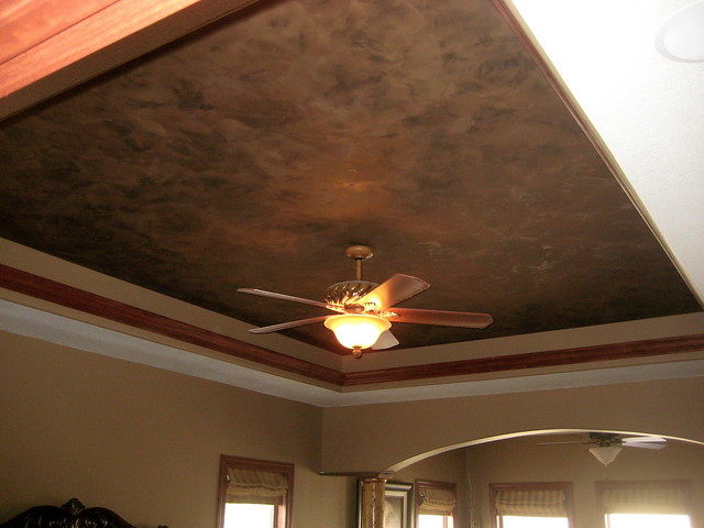 Tray Ceiling - Master Bedroom - Italian Finishes - Bella ...