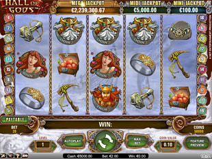 Hall of Gods slot game online review