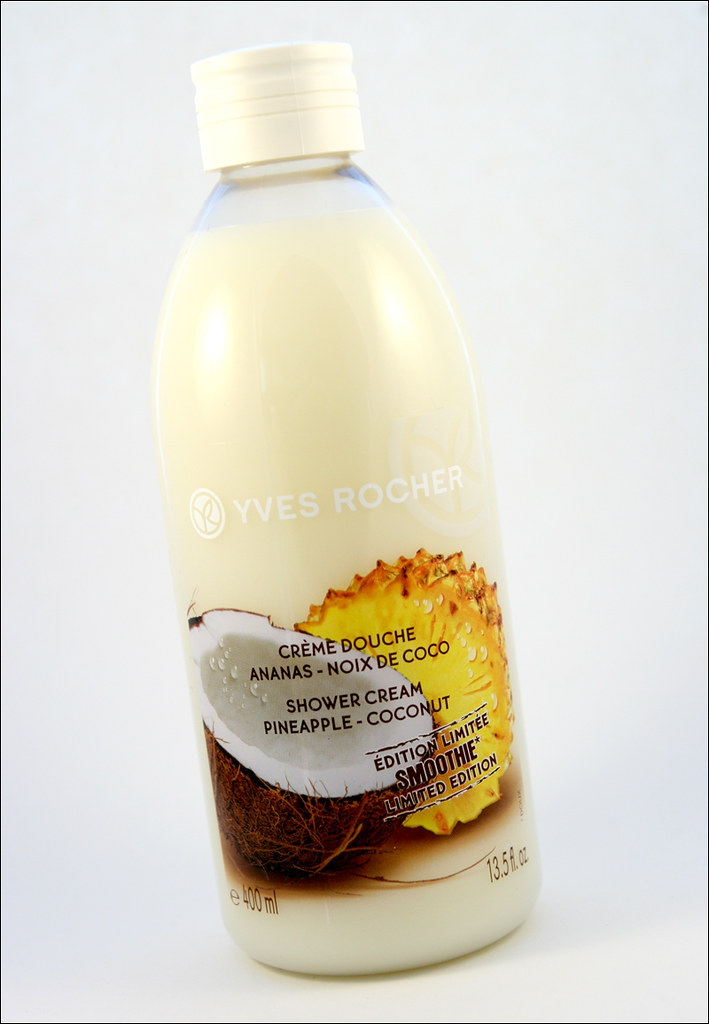 yves rocher pineapple coconut smoothie