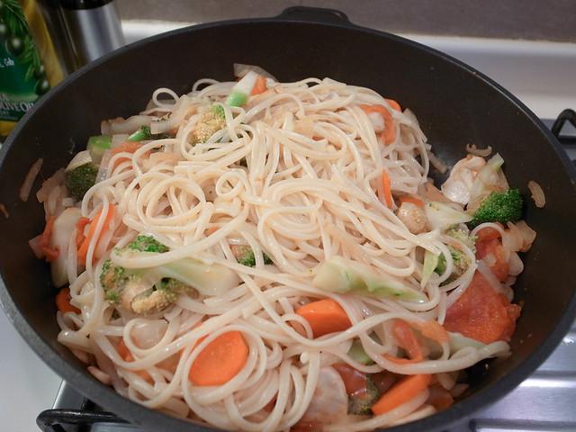 蔬菜義大利麵