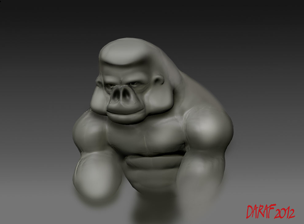 gorilla-practice_z-brush