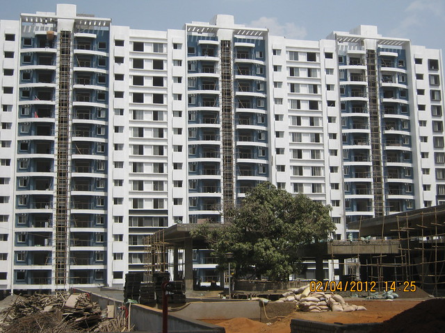 Sparklet - Megapolis Smart Homes 1, Hinjewadi Phase 3, Pune 411057 - Tree, podium & A 10,11,12 Buildings