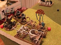 Turn 5b.1 - Ogres - Mournfang charge Anvil