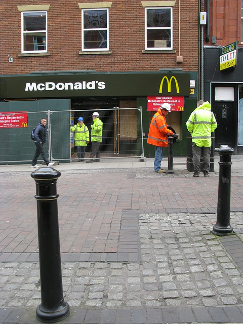 mcdonald s in friargate is still closed down after the fire mcdonald s ...