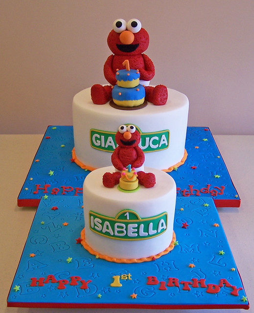 Elmo Design Birthday Cake : Elmo Cakes Flickr - Photo Sharing!