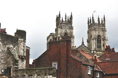 Minster and roofs