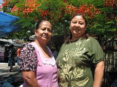 Carmen y Lucia, Mercado Sanchez Pascuas @ Oaxaca 04.2012