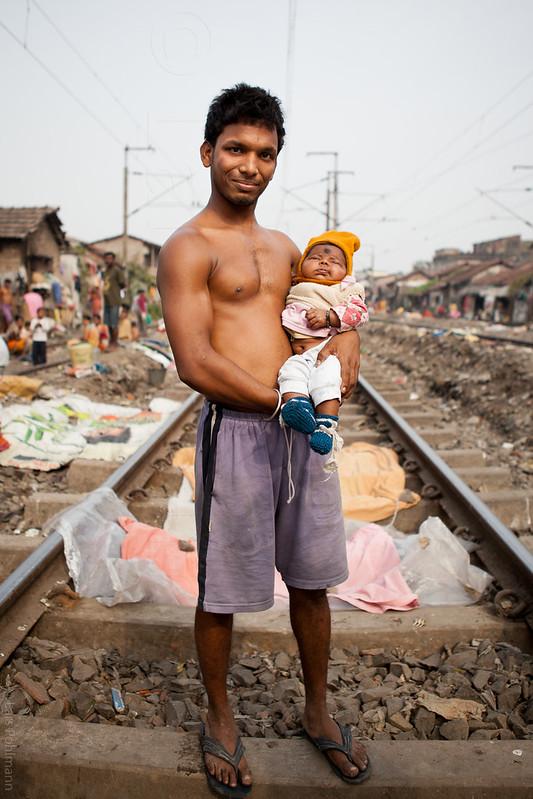Panchanantala Slum in Kolkata