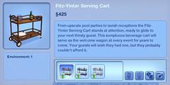 Fitz-Yinter Serving Cart