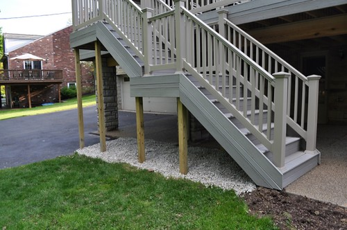 Landscape Fabric Under Deck : Have projects will travel may