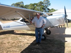 Adelaide Road Racecourse. 90th Anniversary of airmail flight from Adelaide to Gawler.
