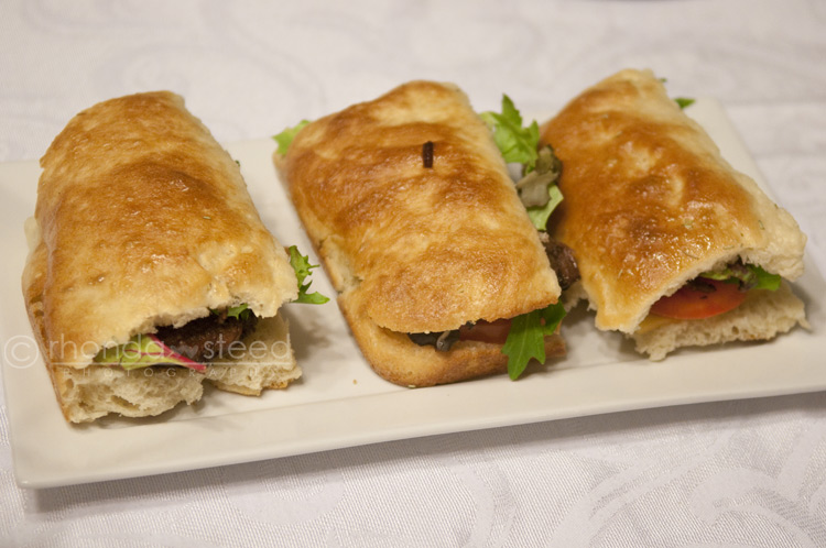 Slow Roasted Lamb sandwhichs