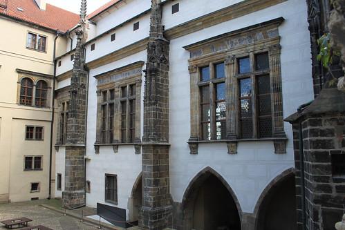 Exterior of Vladislav Hall, Prague Castle