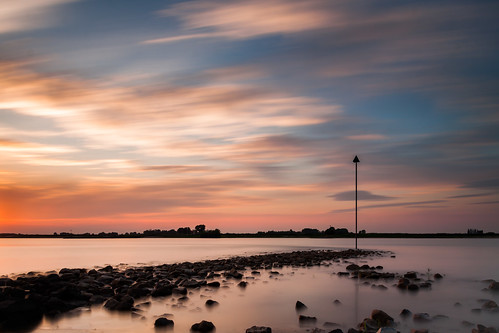 longexposure colour landscape day cloudy smooth silk waal skywater nd110