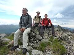 Punta di Quercitella : le sommet pour trois des aventuriers - mais pas les mêmes