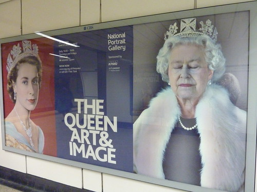 Queen Elizabeth then and now