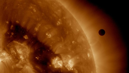 SDO's Ultra-high Definition View of 2012 Venus Transit - 193 Angstrom