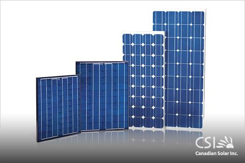 Фотоэлектрические панели производства Canadian Solar