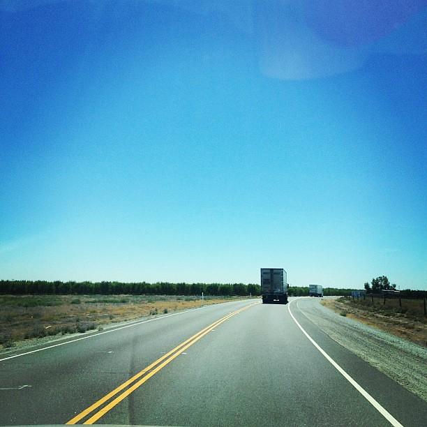 En route to las Vegas Nevada! Highway 46 to 99