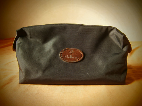 mulberry nylon clipper clutch pouch manila philippines