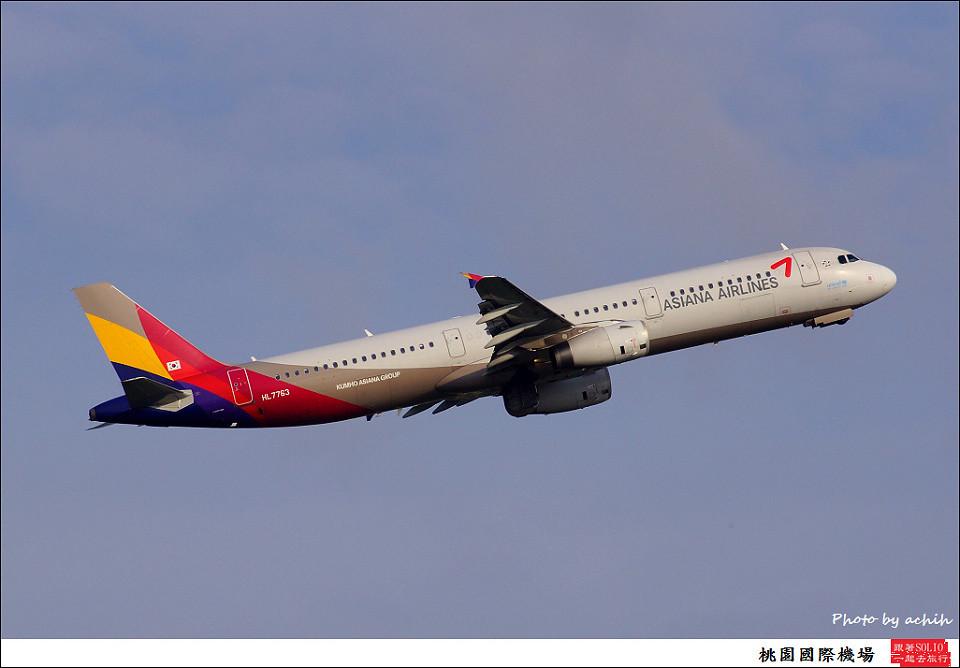 韓亞航HL7763客機001