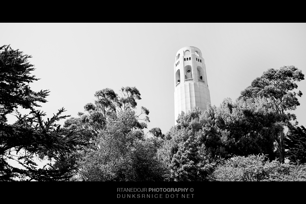 Tower B&W.