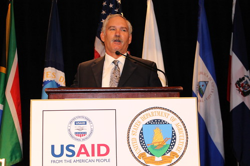 Under Secretary for Farm and Foreign Services Michael Scuse at 2012 International Food Aid and Development Conference. (Photo Credit: Epi Yanez, USDA/Farm Service Agency/Kansas City)
