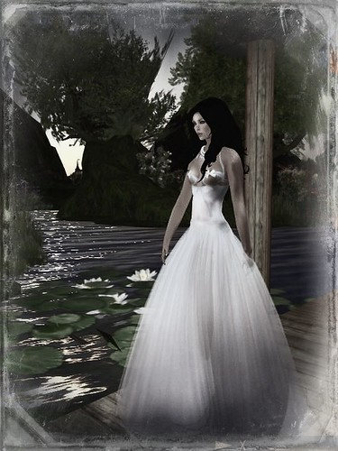 Shar's Gowns Oops in Blue by Cherokeeh Asteria