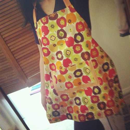 Finished apron!