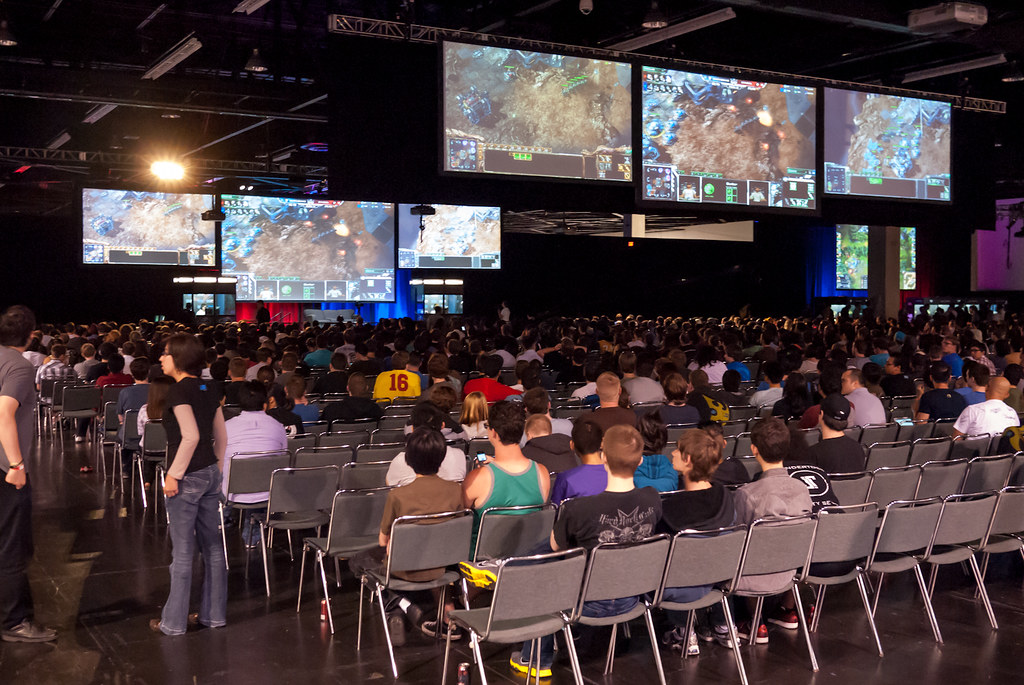 StarCraft 2 on the Main Stage