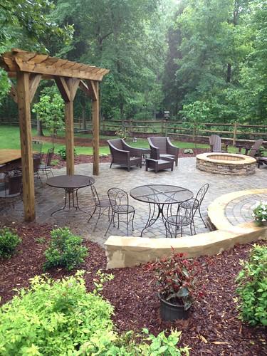 kitchen landscape design charlotte patio edge designfine lightslandscape lightingled fireplaceoutdoor