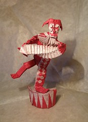 Clown by Chuya Miyamoto, folded by Artur Biernacki