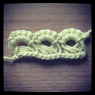Broomstick stitch